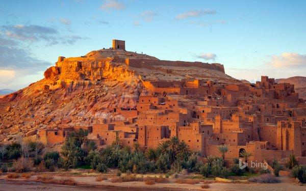 Man Made Aït Benhaddou Towns Morocco HD Wallpaper   Background Image
