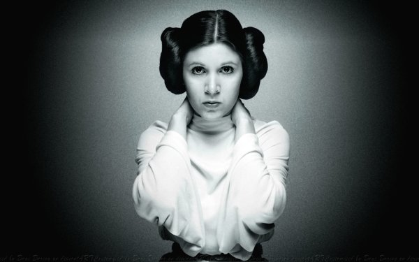Movie Star Wars Princess Leia Carrie Fisher HD Wallpaper | Background Image