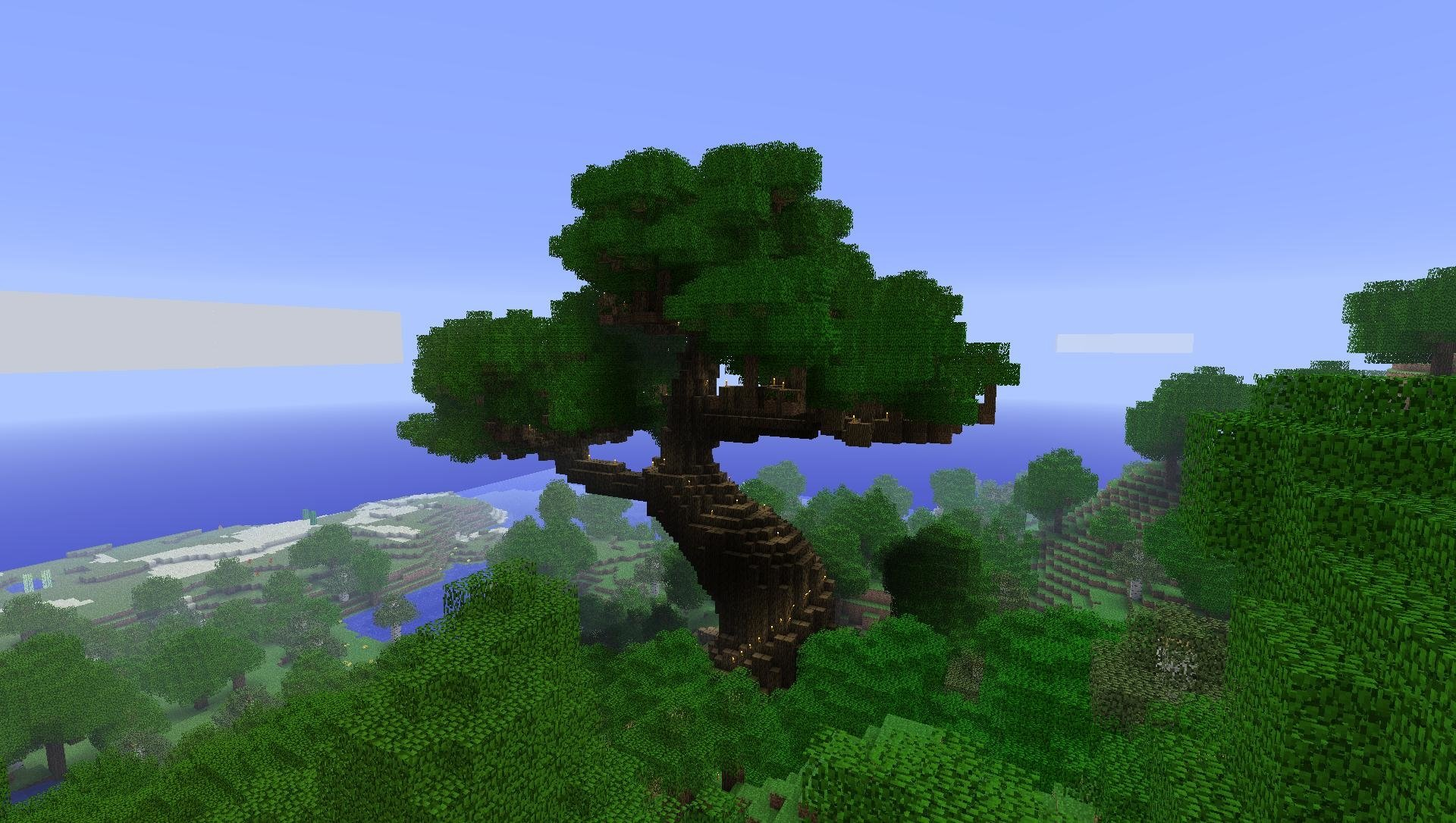 Cherry Blossom Tree Facts Minecraft Full Hd Wallpaper And Background Image