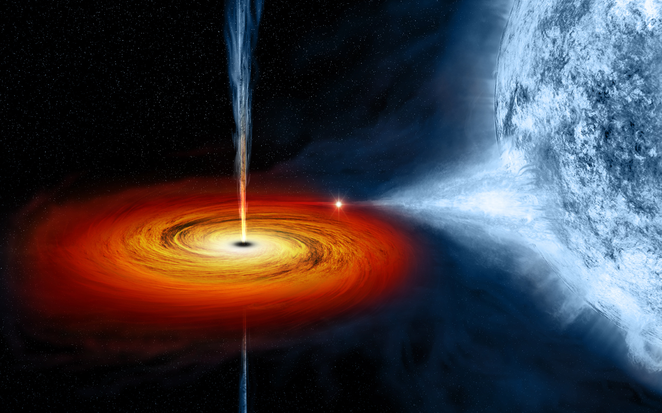 31 Black Hole HD Wallpapers | Backgrounds - Wallpaper Abyss