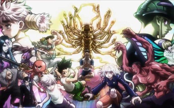 Anime Hunter x Hunter Gon Freecss Killua Zoldyck Neferpitou Fondo de pantalla HD | Fondo de Escritorio