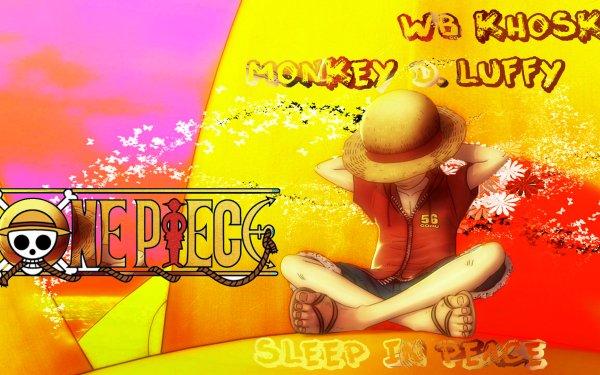 Anime One Piece Monkey D. Luffy Sleeping HD Wallpaper | Background Image