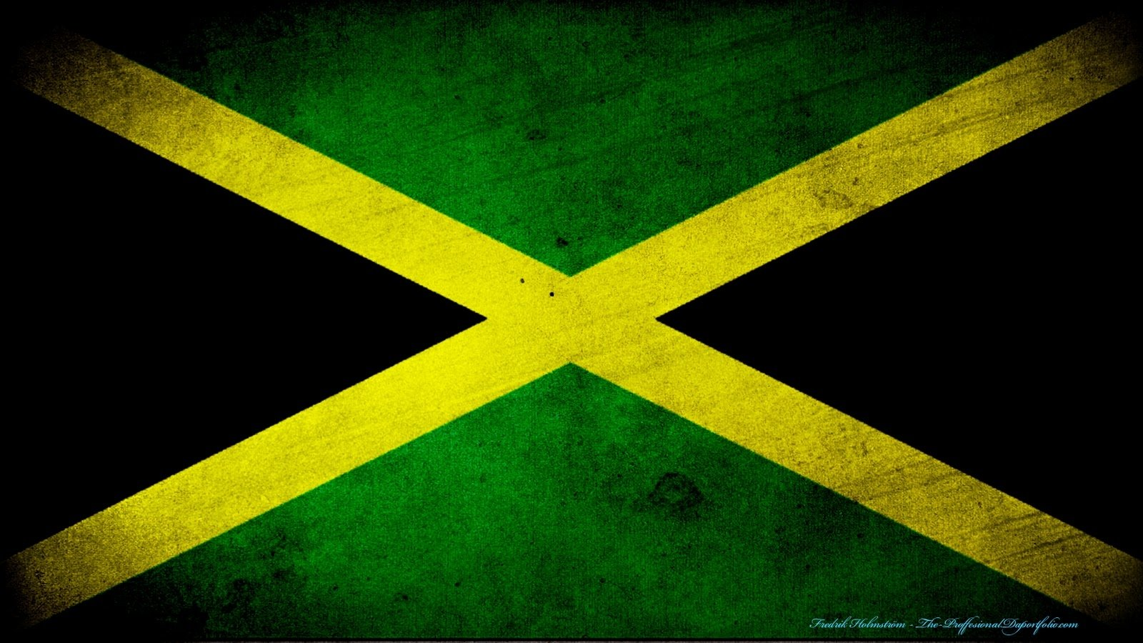 flag of jamaica wallpaper and background 1600x900 id