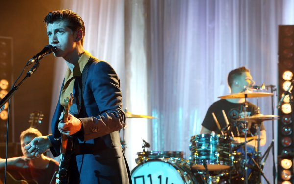 Music Arctic Monkeys Band (Music) United Kingdom English Rock Band HD Wallpaper | Background Image