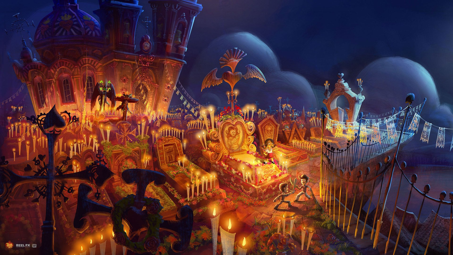book of life wallpaper  The Book of Life HD Wallpaper | Background Image | 1920x1080 | ID ...