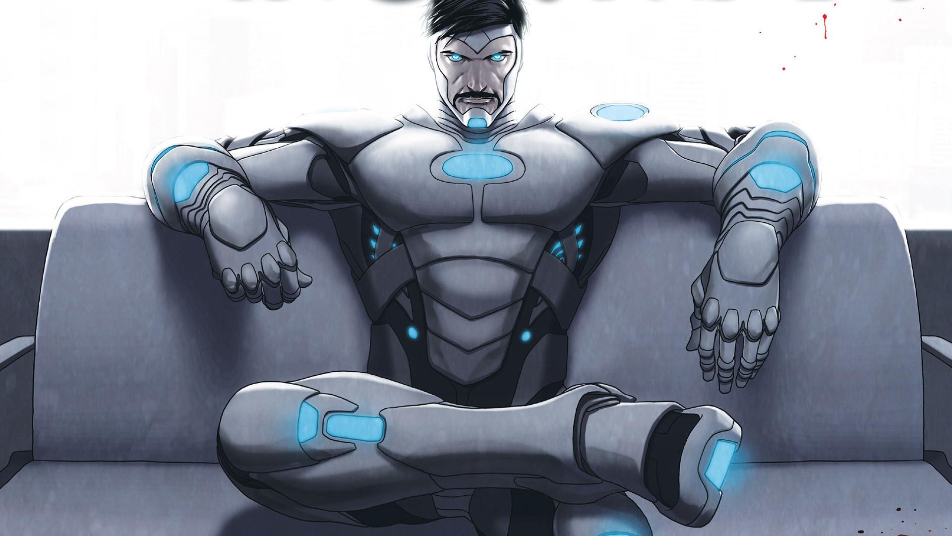 Iron Man 3 Suit Patriot 1 Superior Iron Man HD...