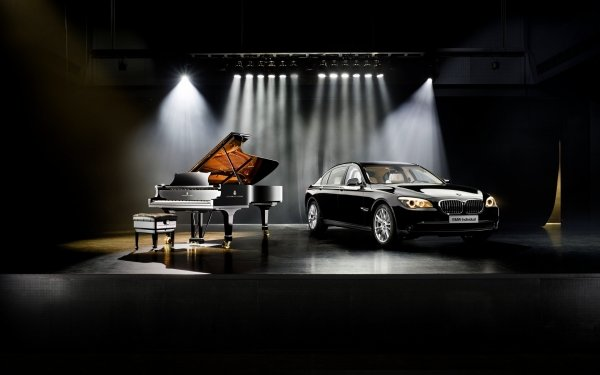 Vehicles BMW 7 Series BMW Car Piano Steinway HD Wallpaper | Background Image