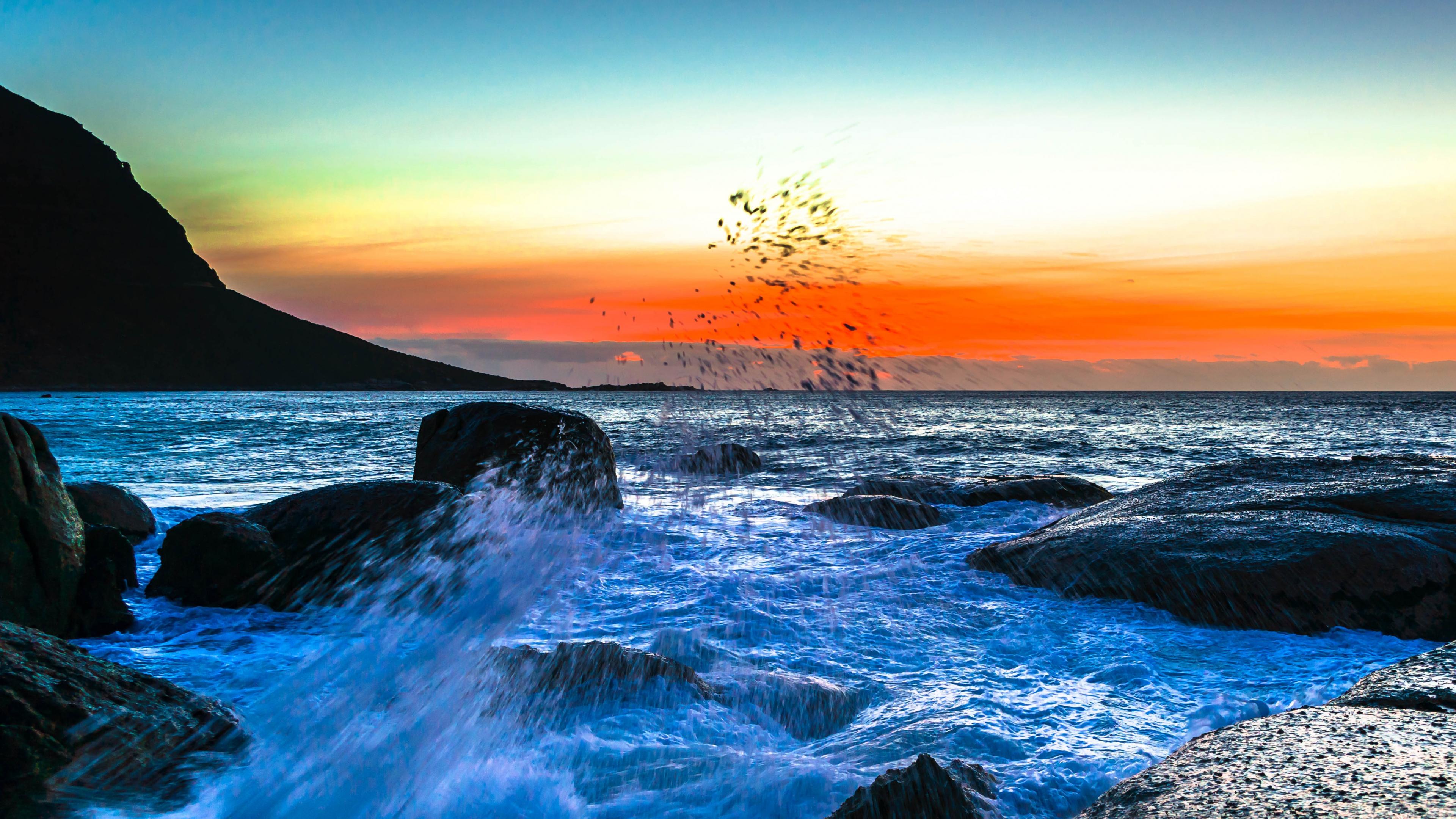 Ocean 4k Ultra Hd Wallpaper Background Image 3840x2160 Id