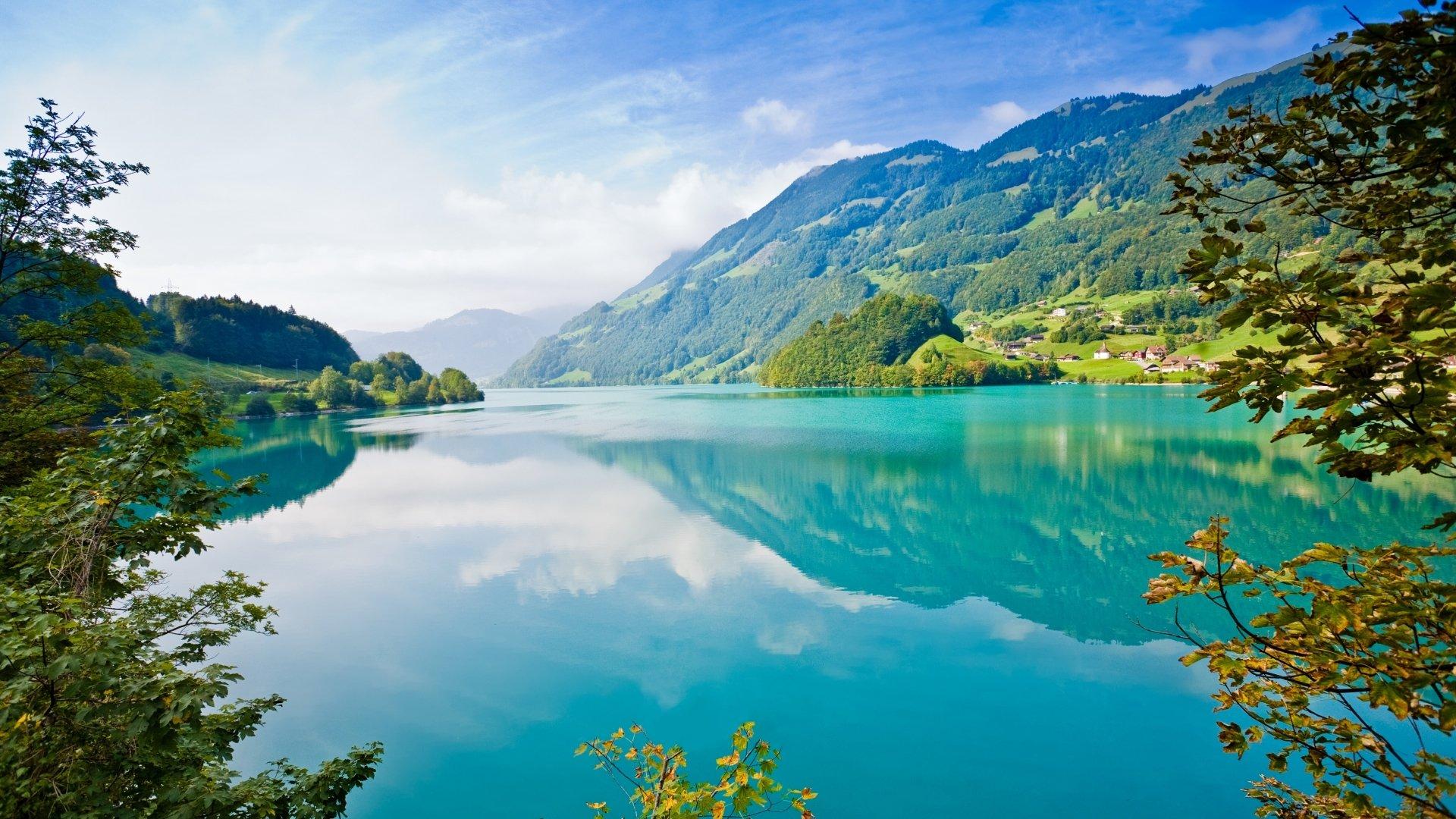 Earth - Lake  Reflection Mountain Wallpaper