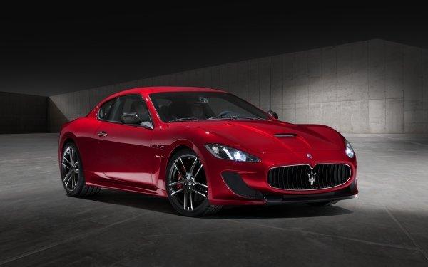 Vehicles Maserati GranTurismo Maserati Gran Turismo Red Car HD Wallpaper   Background Image