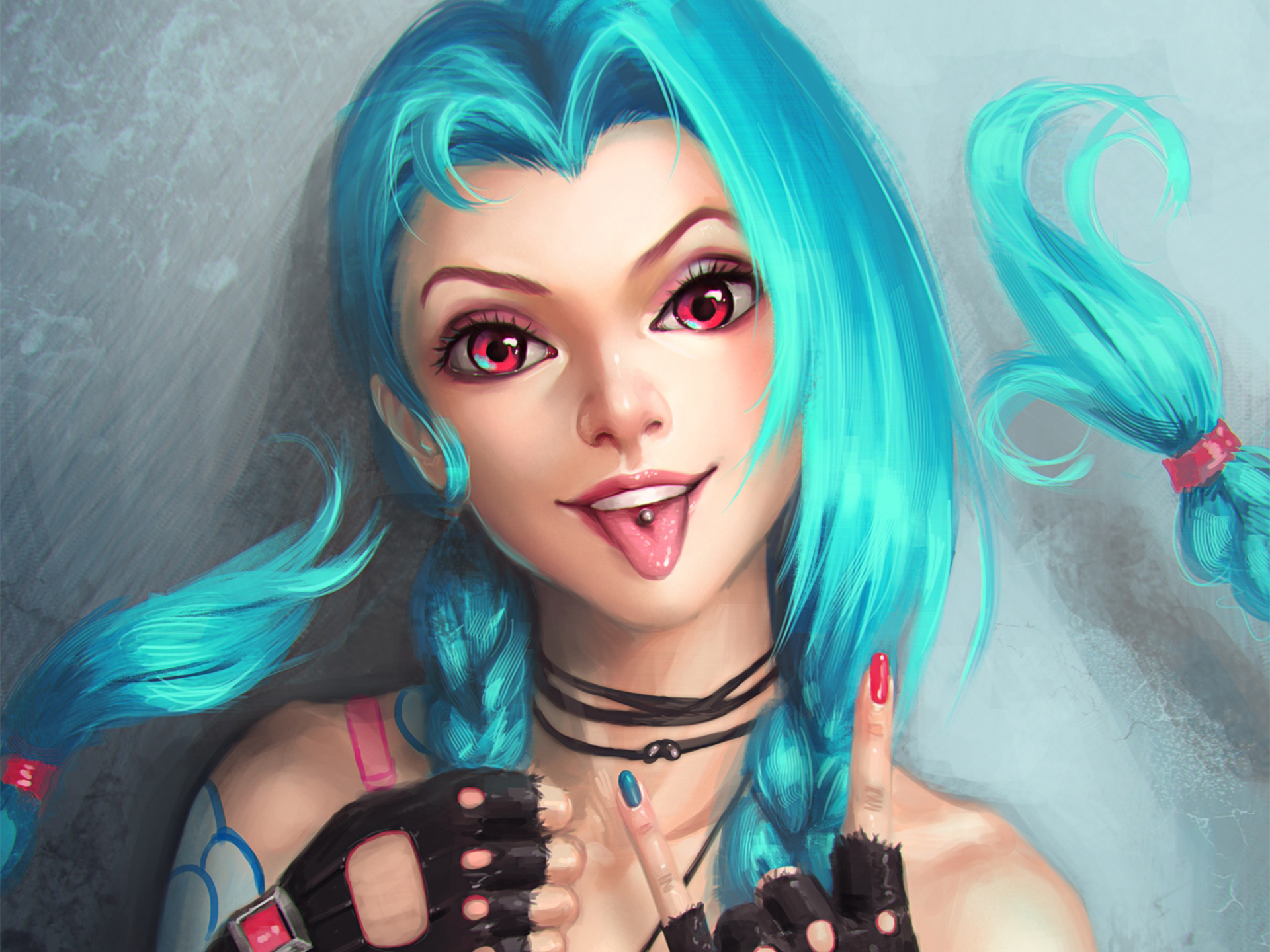 150 jinx (league of legends) hd wallpapers | background images