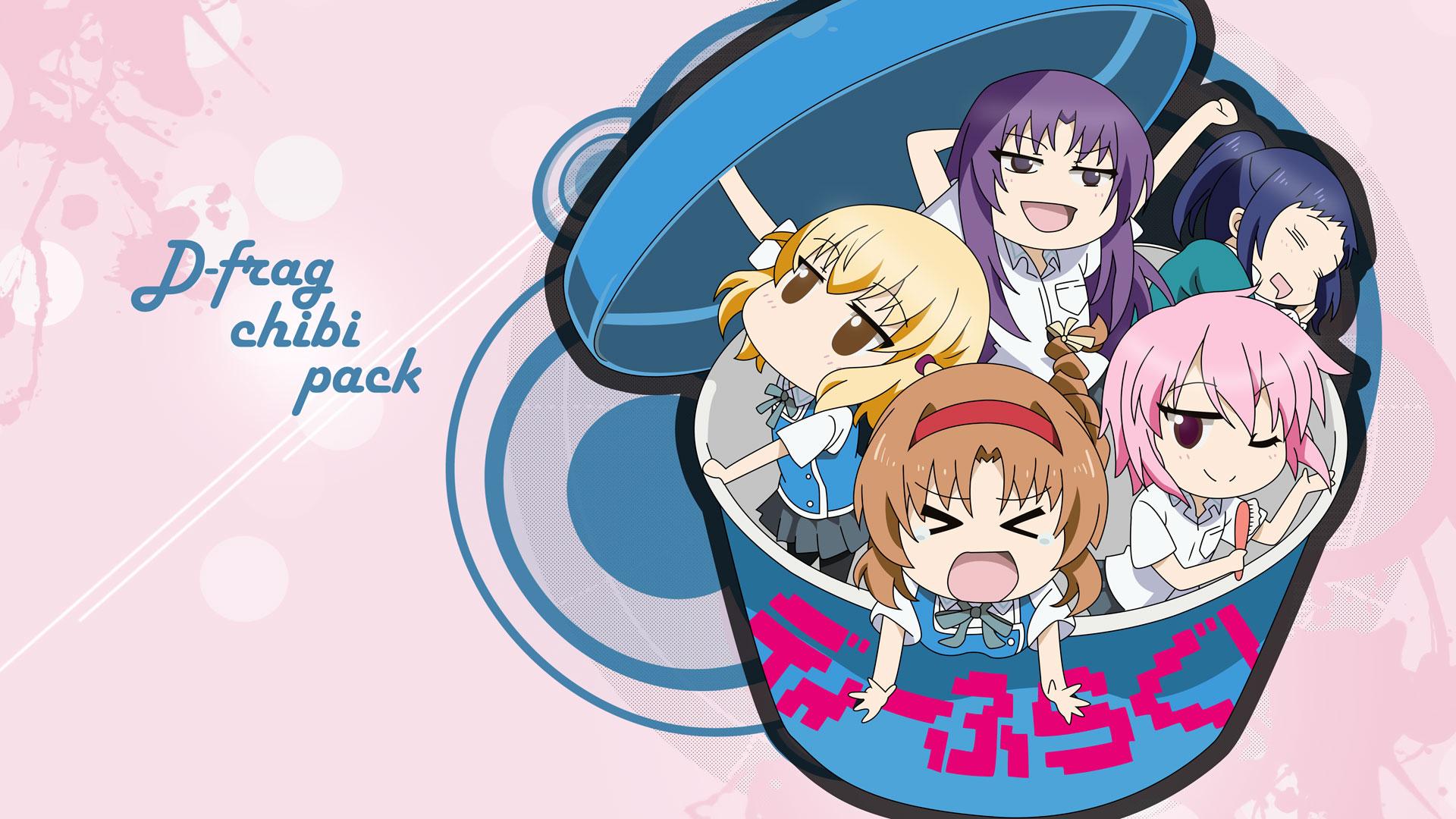 Chibi Pack HD Wallpaper