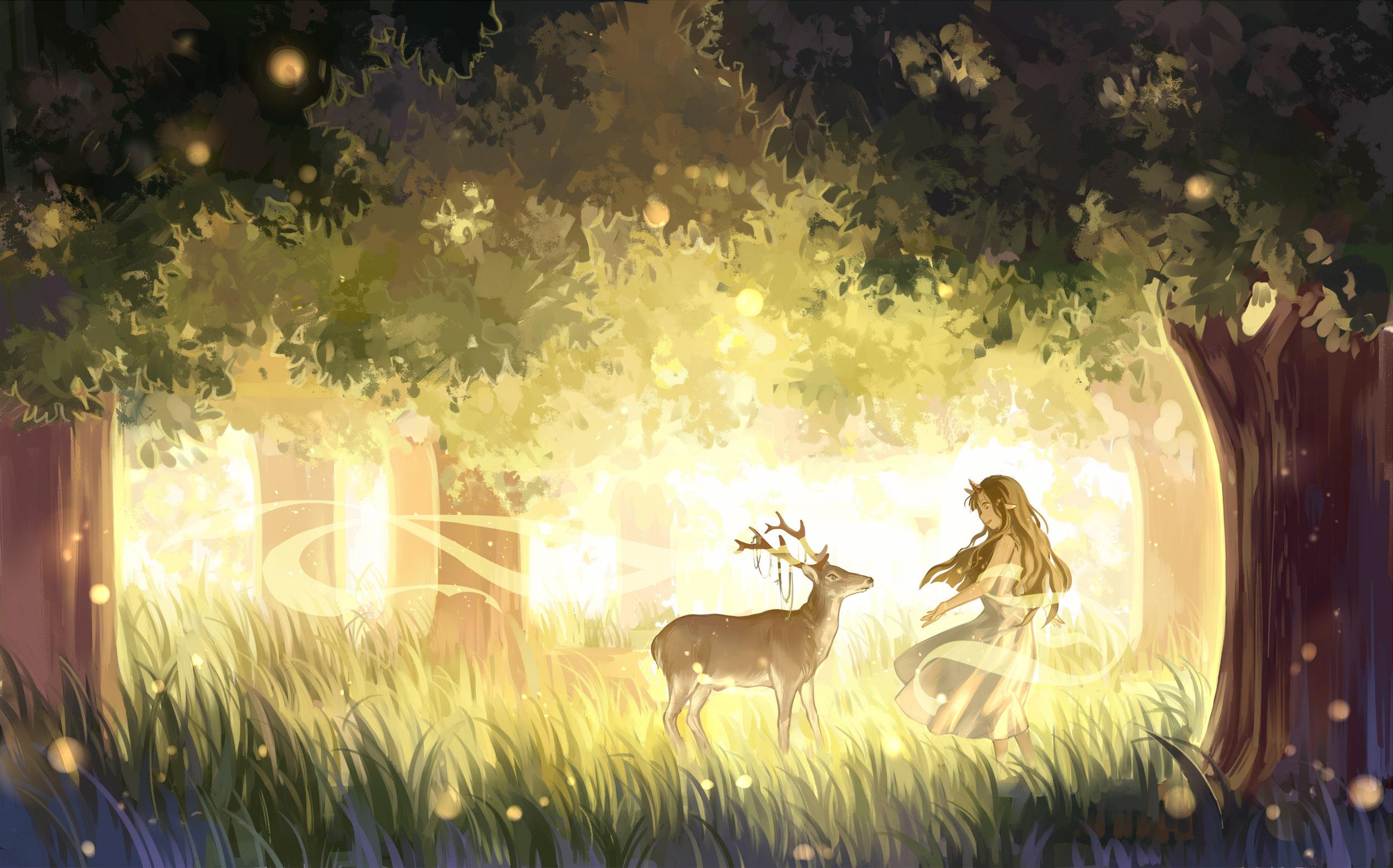 Best Wallpaper Forest Girl - 571919  HD_94489 .jpg
