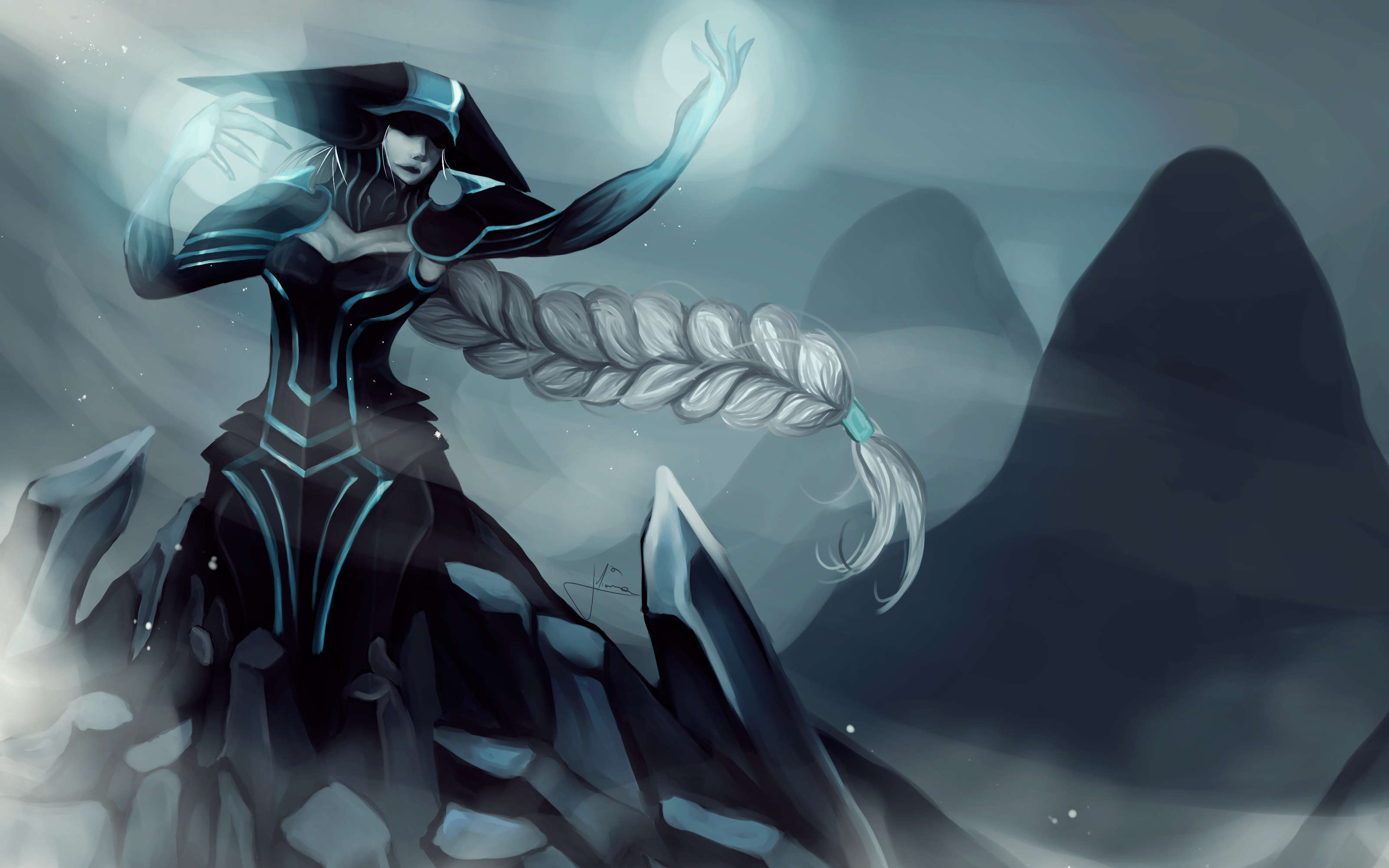 Lissandra - The ice witch HD Wallpaper | Background Image ...