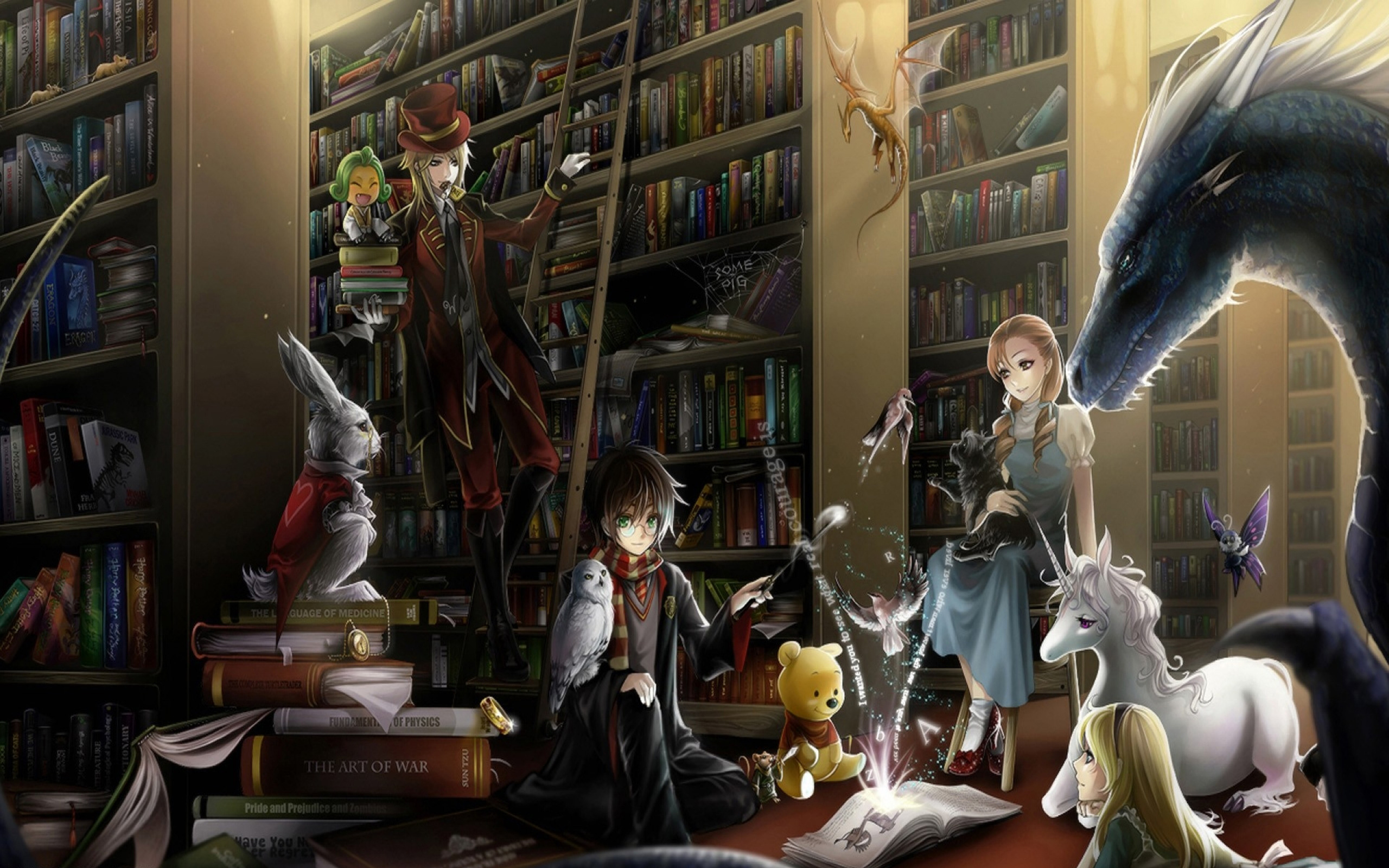 Library by OokamiKasumi on DeviantArt