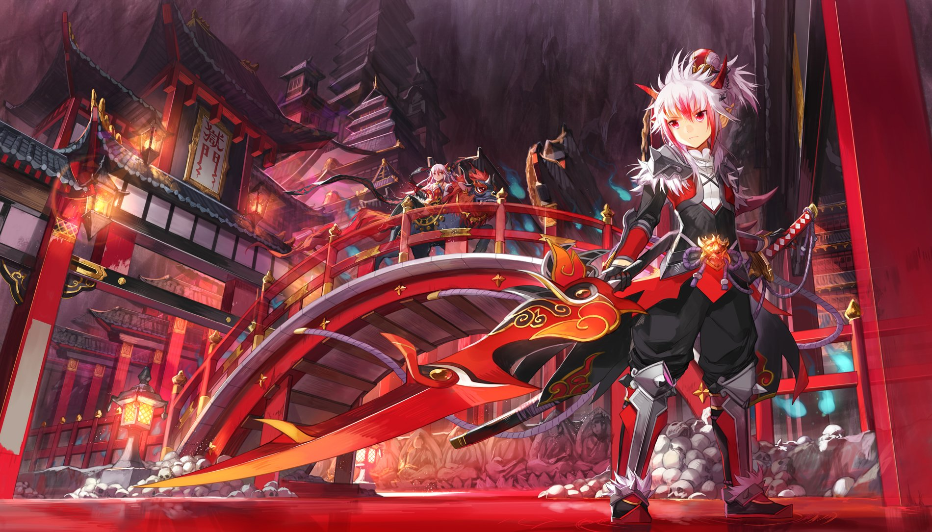 126 elsword hd wallpapers background images wallpaper abyss hd wallpaper background image id576865 1900x1085 video game elsword voltagebd Image collections