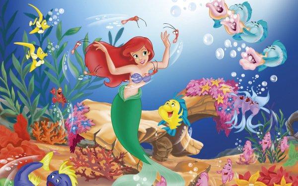 Video Game Disney's Ariel: The Little Mermaid The Little Mermaid HD Wallpaper   Background Image