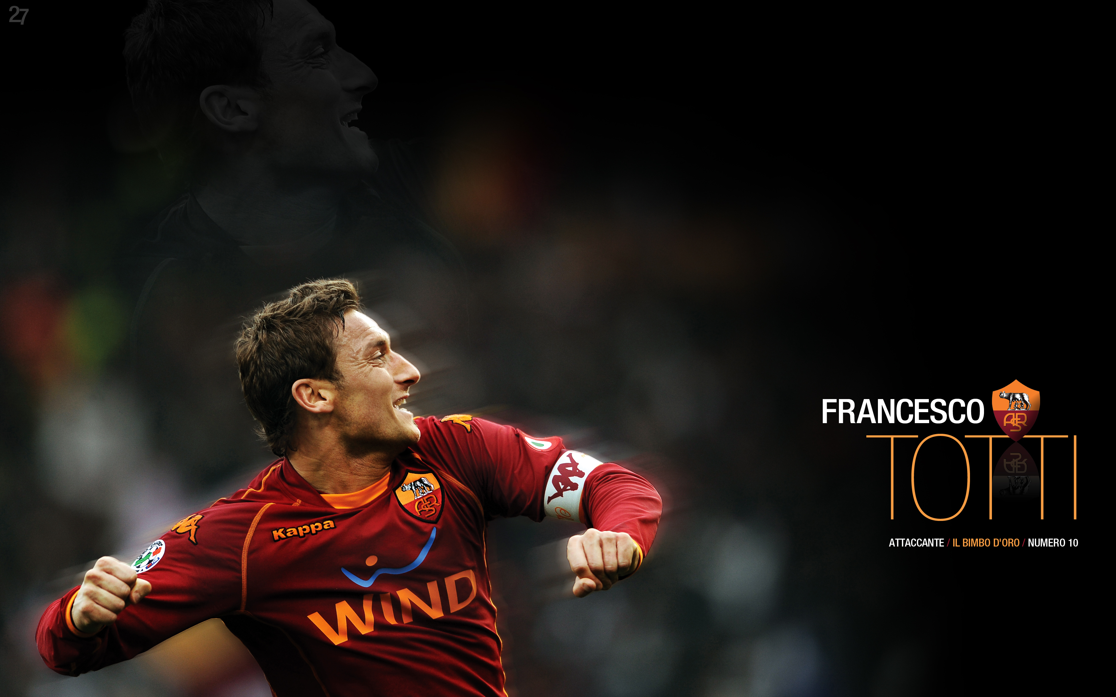 Francesco Totti Full HD Wallpaper and Background ... Soccer Backgrounds For Iphone