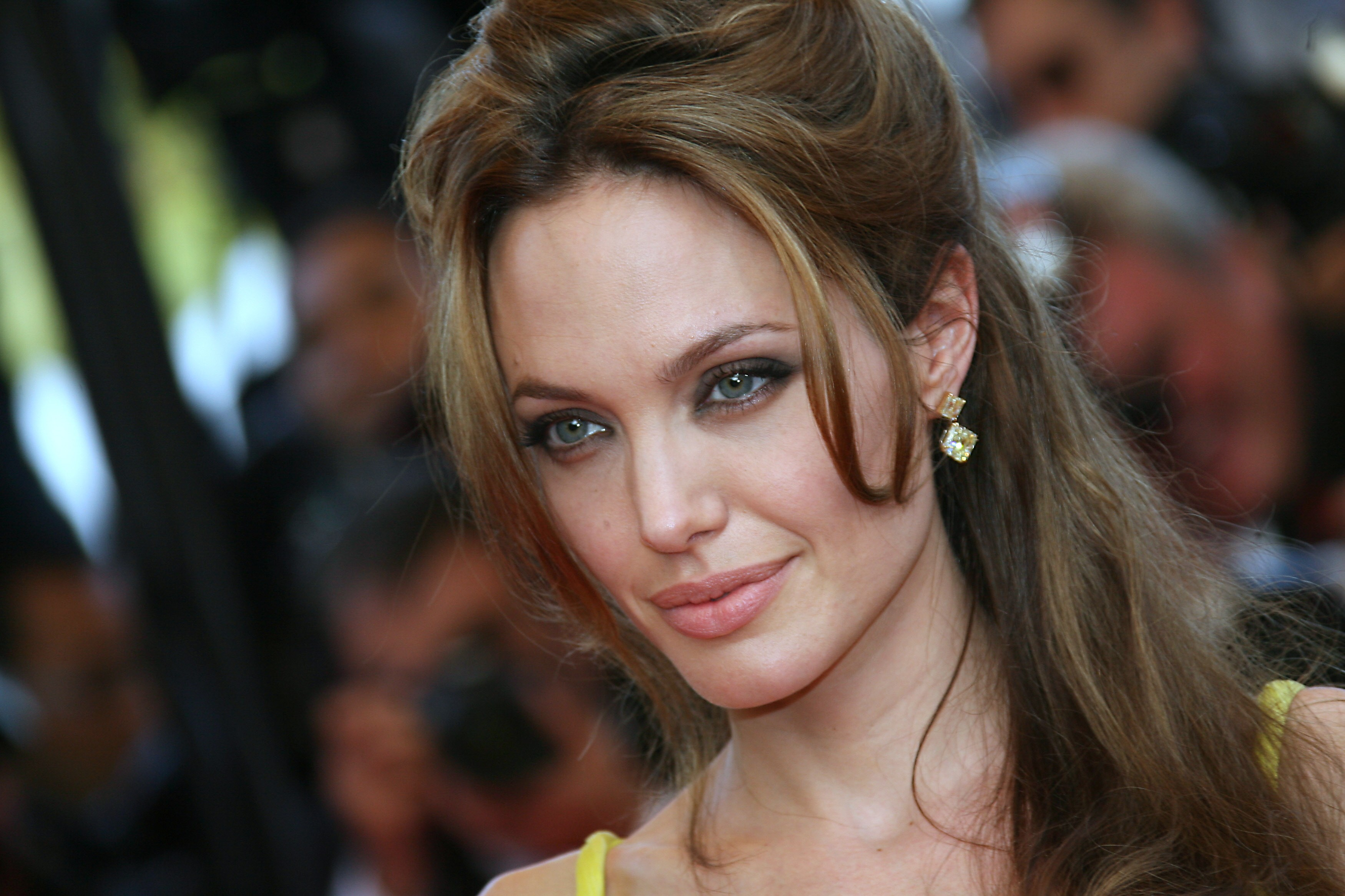 angelina jolie full hd wallpaper and background image | 3500x2333