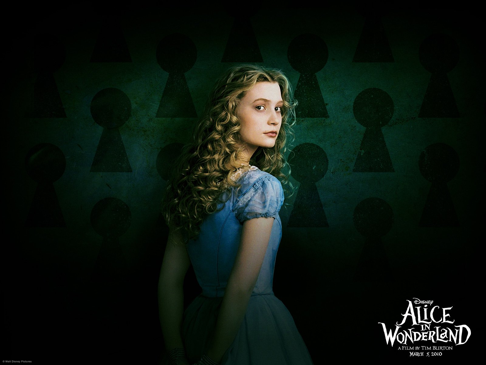 Alice In Wonderland 2010 Wallpaper And Background Image