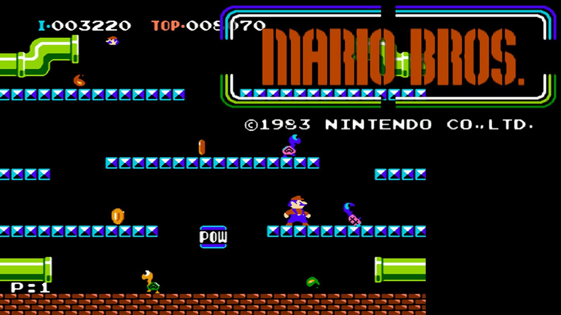 Videojuego - Mario Bros.  Fondo de Pantalla