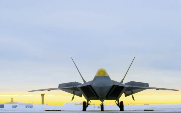 Military Lockheed Martin F-22 Raptor Jet Fighters Aircraft Stealth Aircraft HD Wallpaper | Background Image