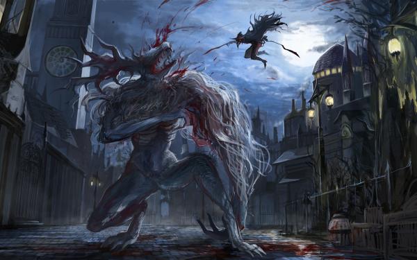 Video Game Bloodborne Fantasy HD Wallpaper | Background Image