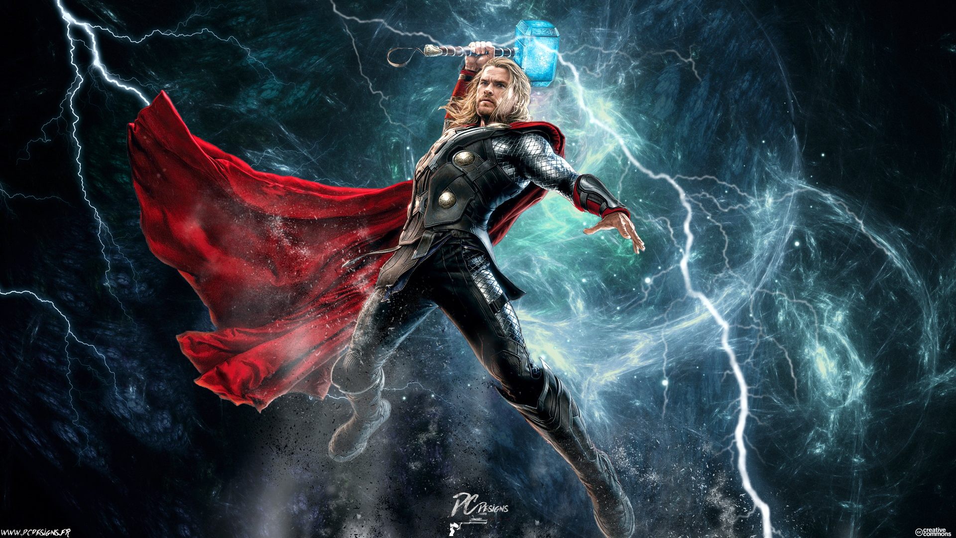 Movie - Avengers: Age of Ultron  Thor Chris Hemsworth Avengers Fan Art Digital Art Wallpaper