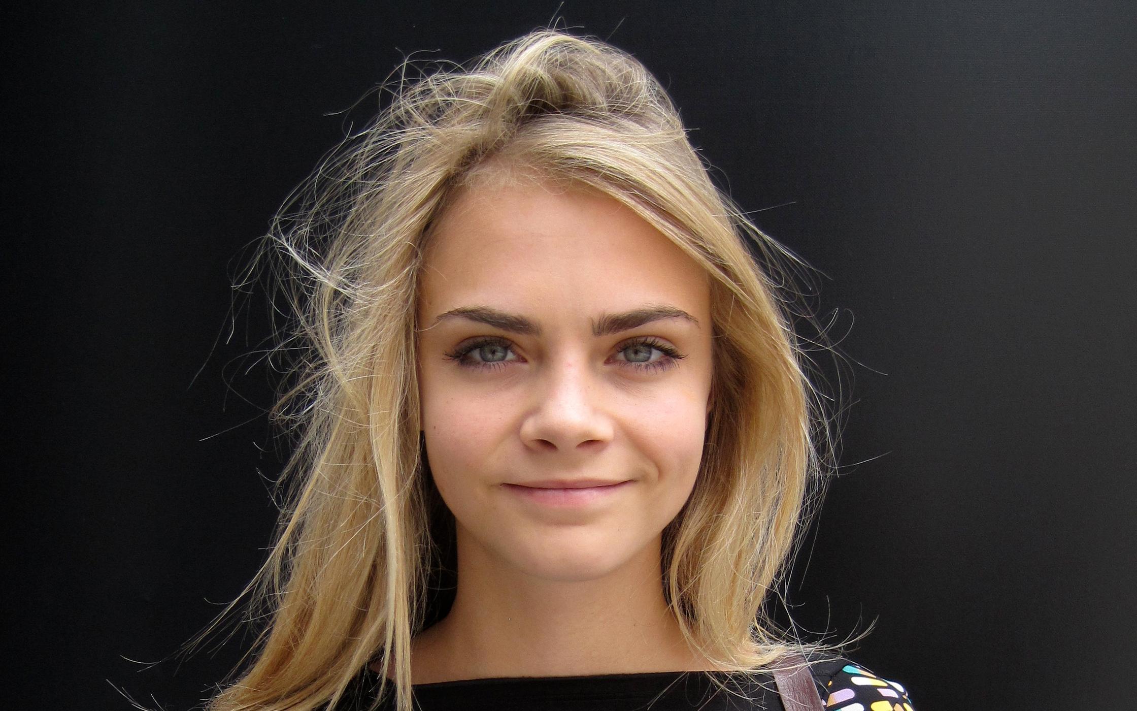 English Fashion Model Cara Delevingne
