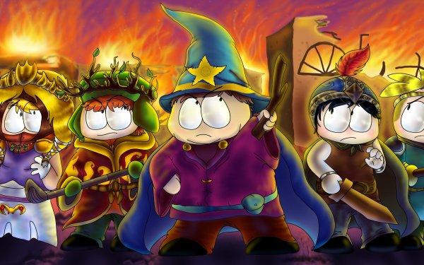 TV Show South Park Kenny McCormick Kyle Broflovski Eric Cartman Stan Marsh Butters Stotch HD Wallpaper | Background Image