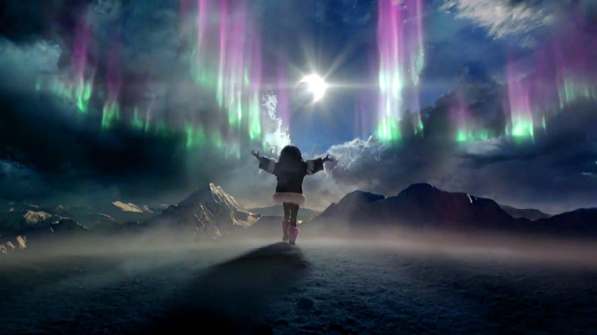 Aurora boreale full hd sfondo and sfondo 1920x1080 id for Aurora boreale sfondo