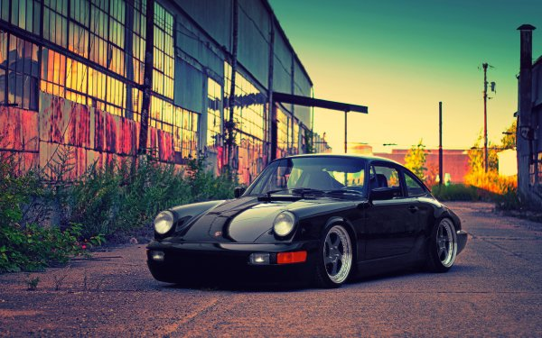 Vehicles Porsche 993 Porsche Car Black Car Sport Car HD Wallpaper | Background Image