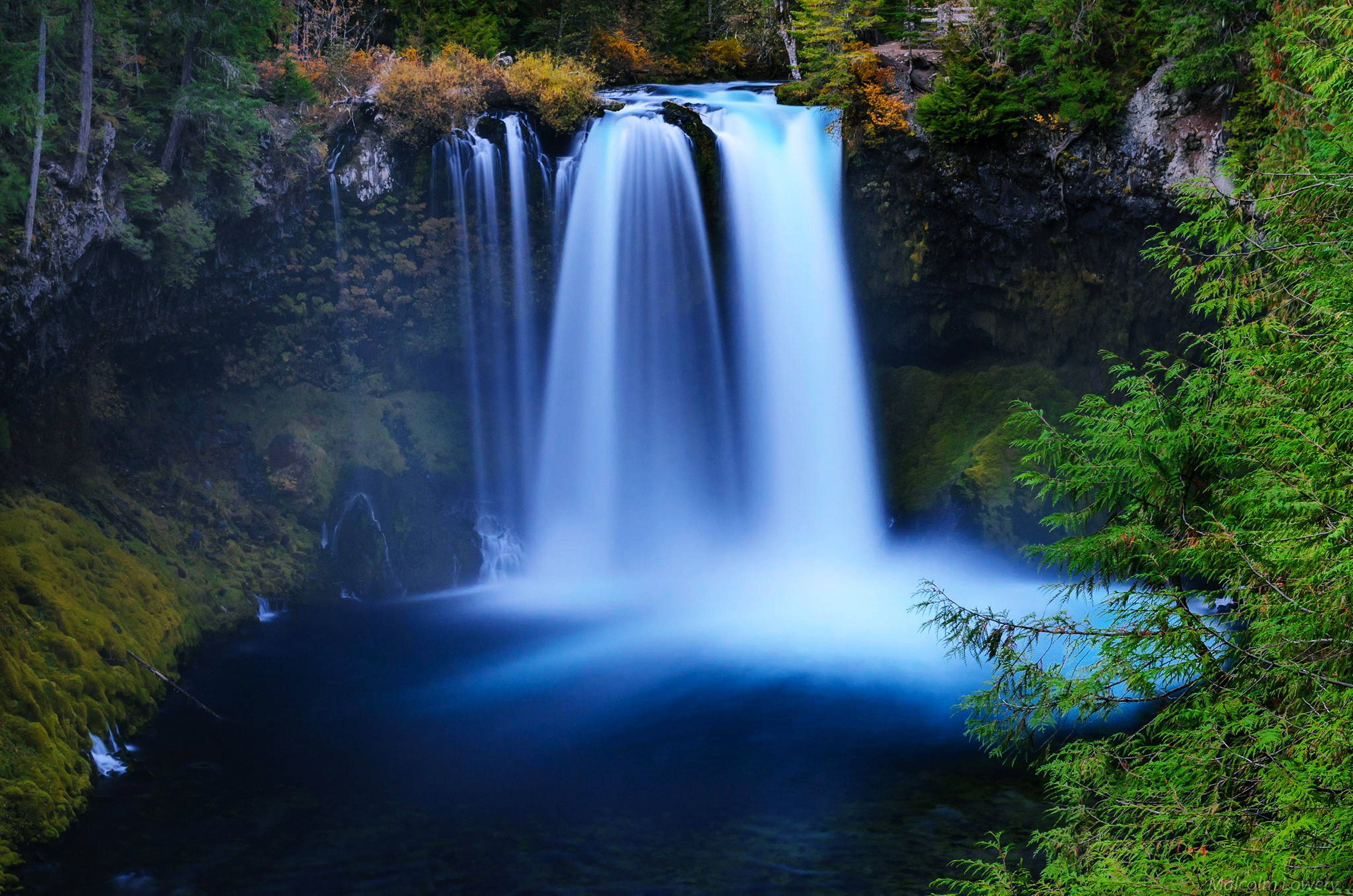 Waterfall 4k Ultra HD Wallpaper | Background Image ...