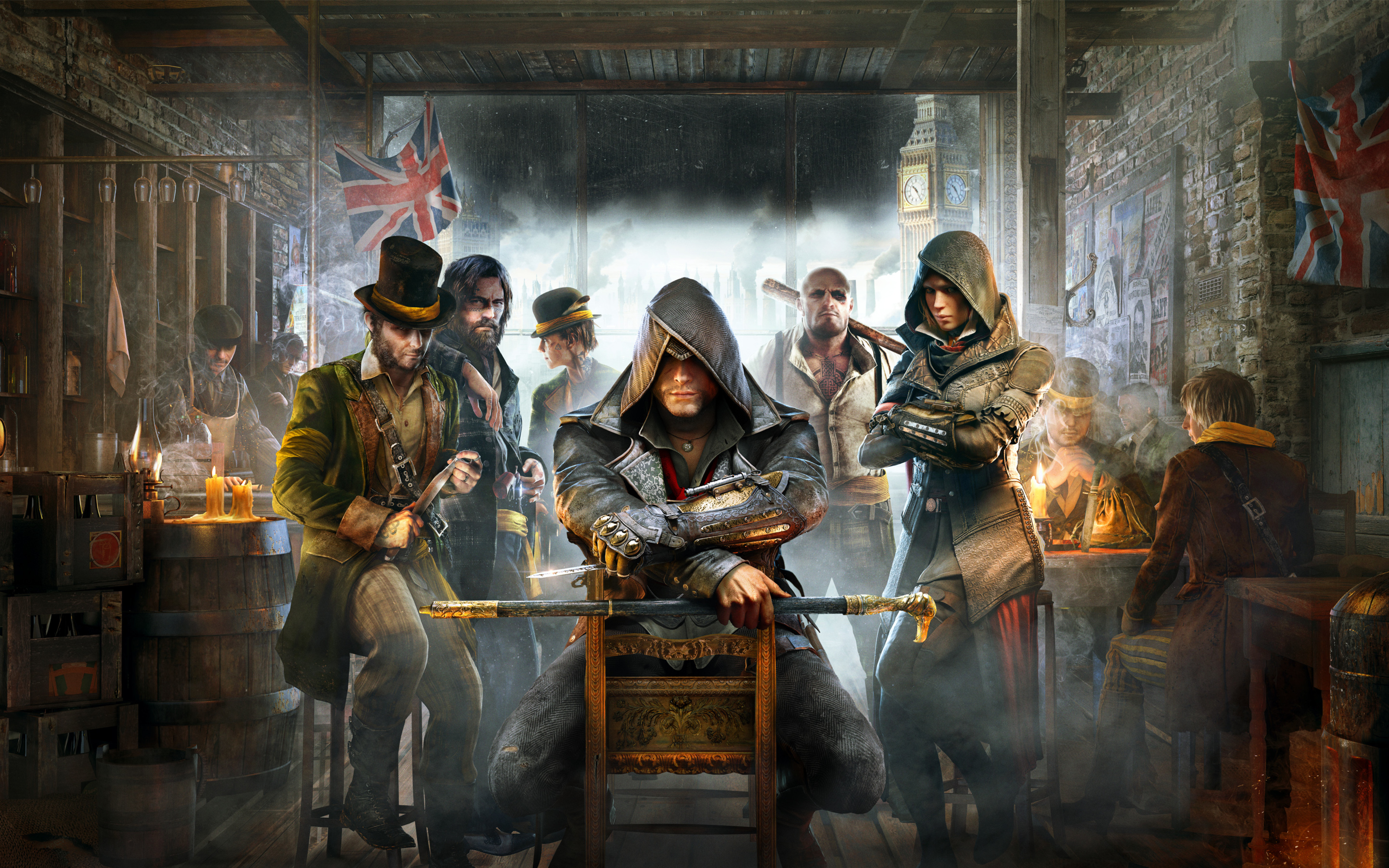 Assasin's Creed Syndicate Cover