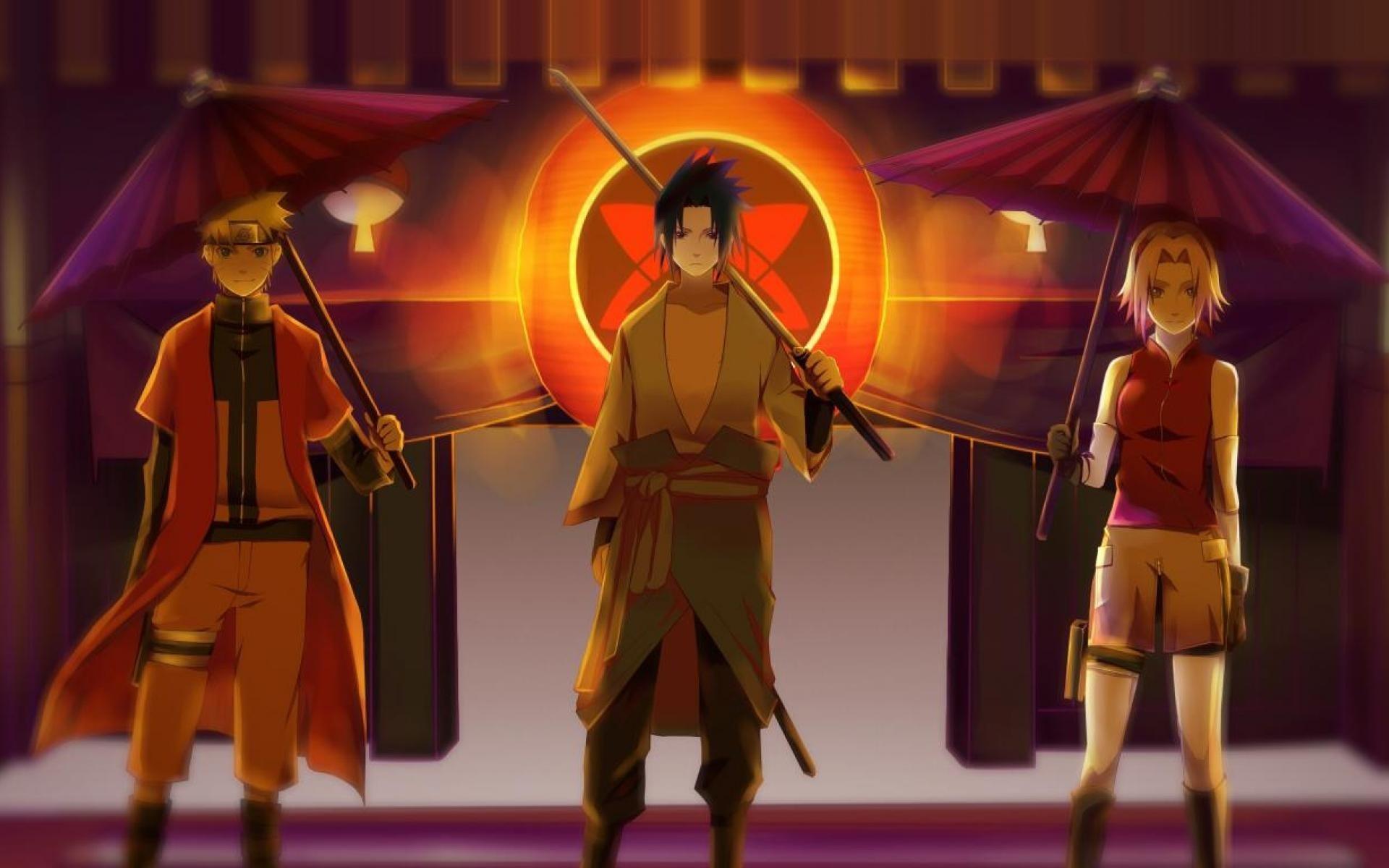 Naruto, Sasuke and Sakura Computer Wallpapers, Desktop ...