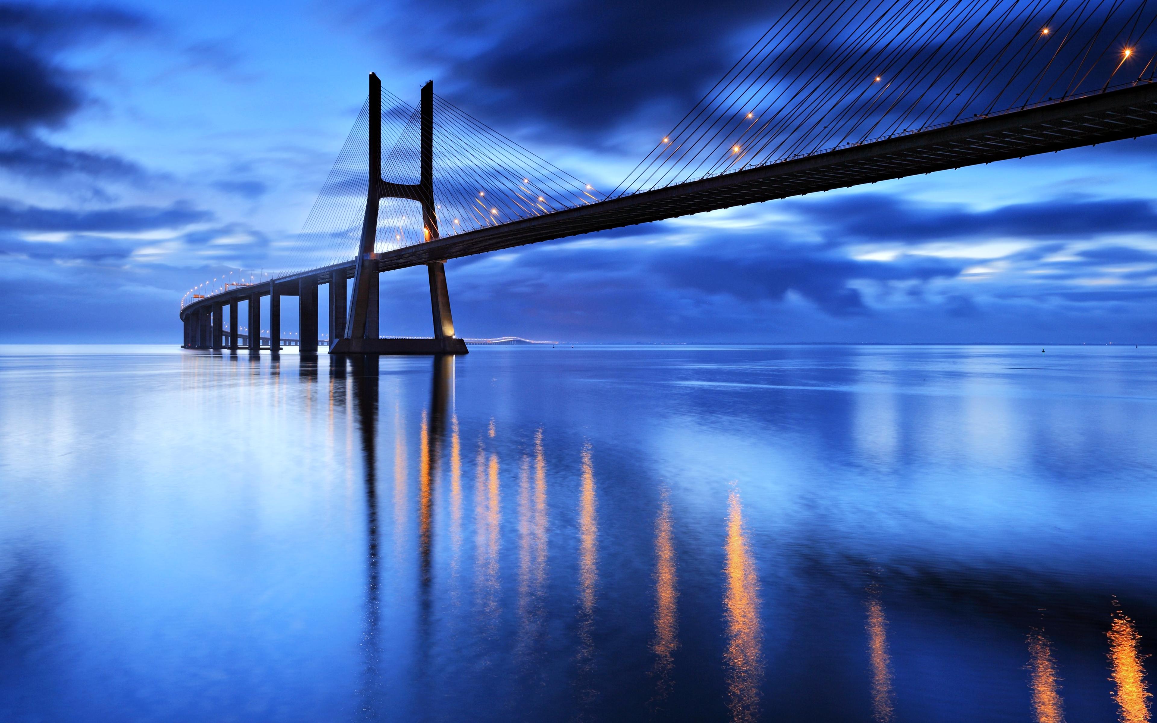 7 Vasco Da Gama Bridge Hd Wallpapers Background Images