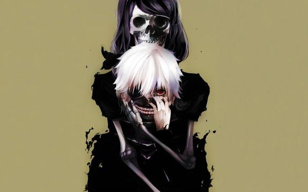 Anime Tokyo Ghoul Ken Kaneki Rize Kamishiro HD Wallpaper | Background Image