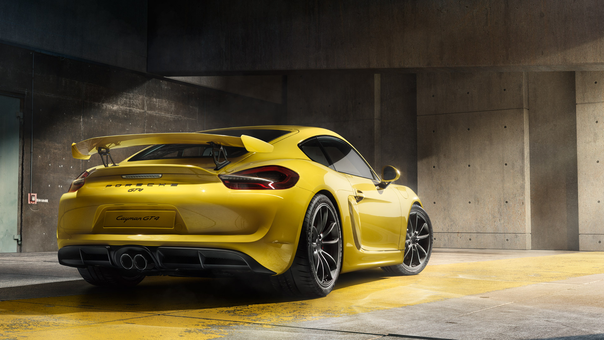 Porsche Cayman GT4 Wallpapers, Hintergründe