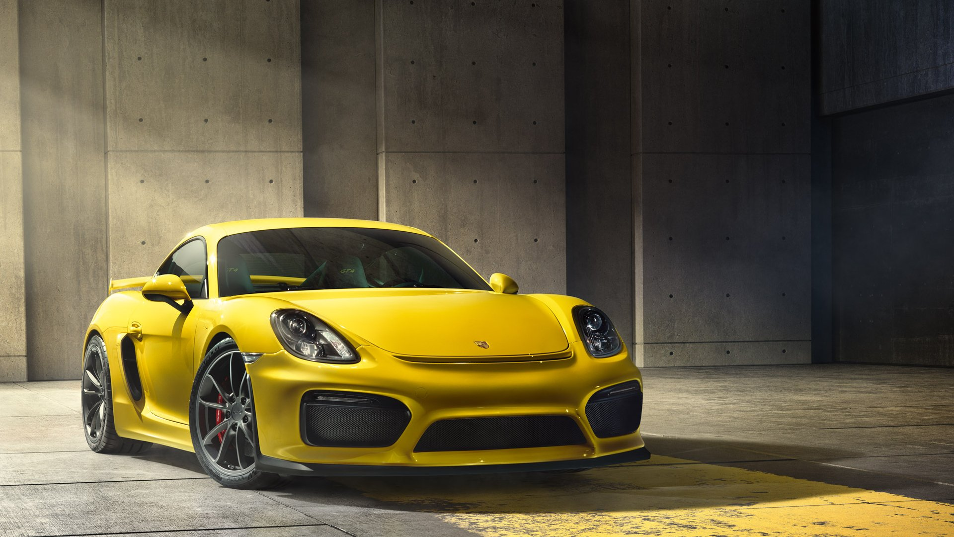Porsche Cayman GT4 HD Wallpaper