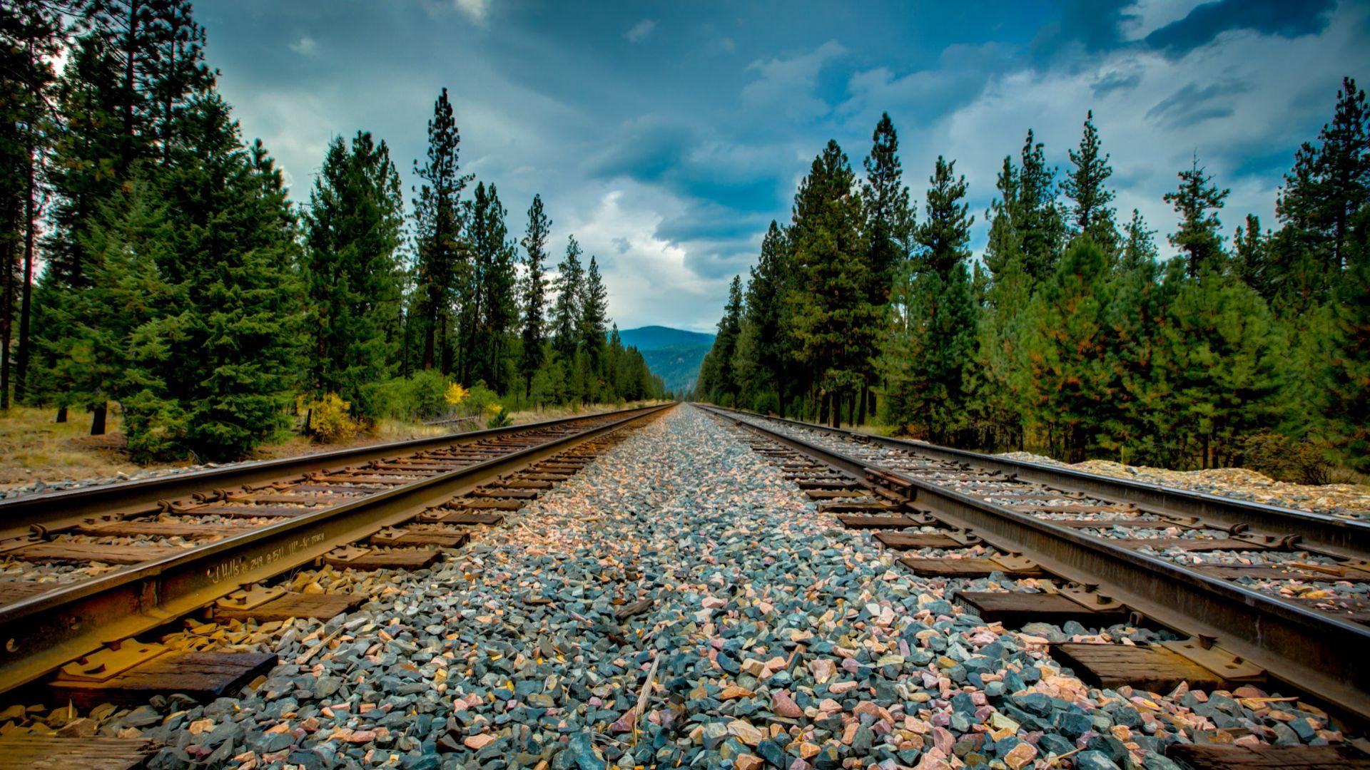 Railroad HD Wallpaper  Background Image  1920x1080  ID:598461  Wallpaper Abyss