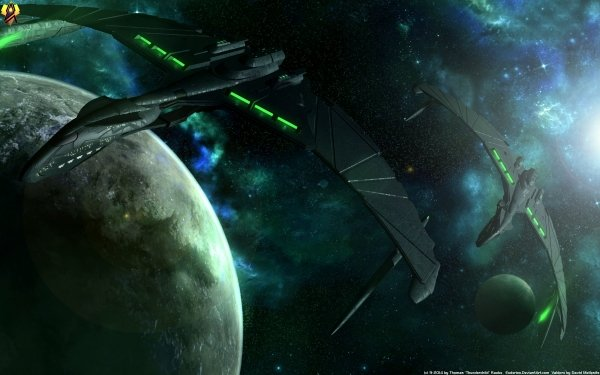Movie Star Trek: Nemesis Star Trek Romulan Valdore Sci Fi Spaceship Futuristic HD Wallpaper | Background Image