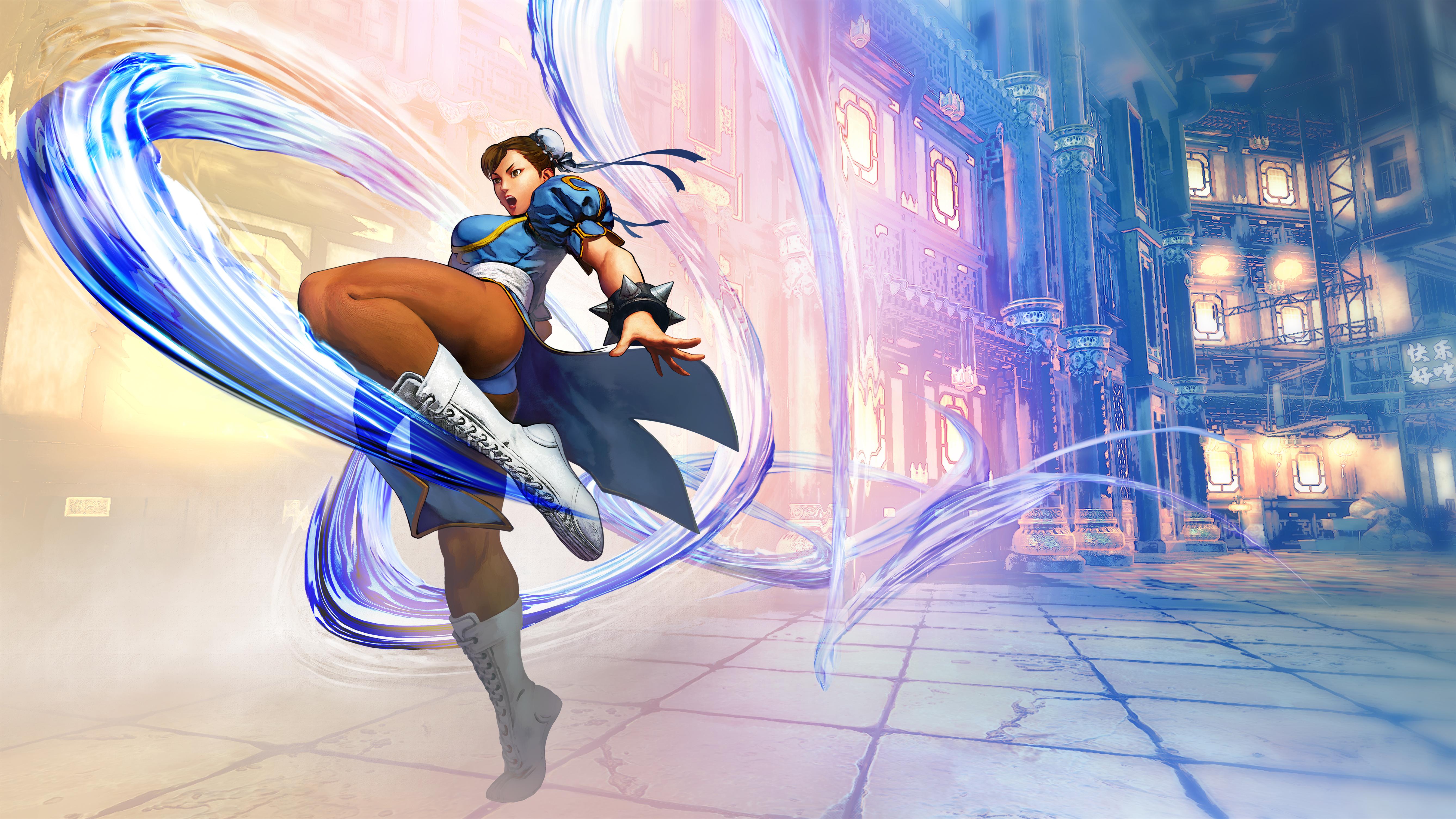 Street Fighter V 5k Retina Ultra Hd Wallpaper Background Image