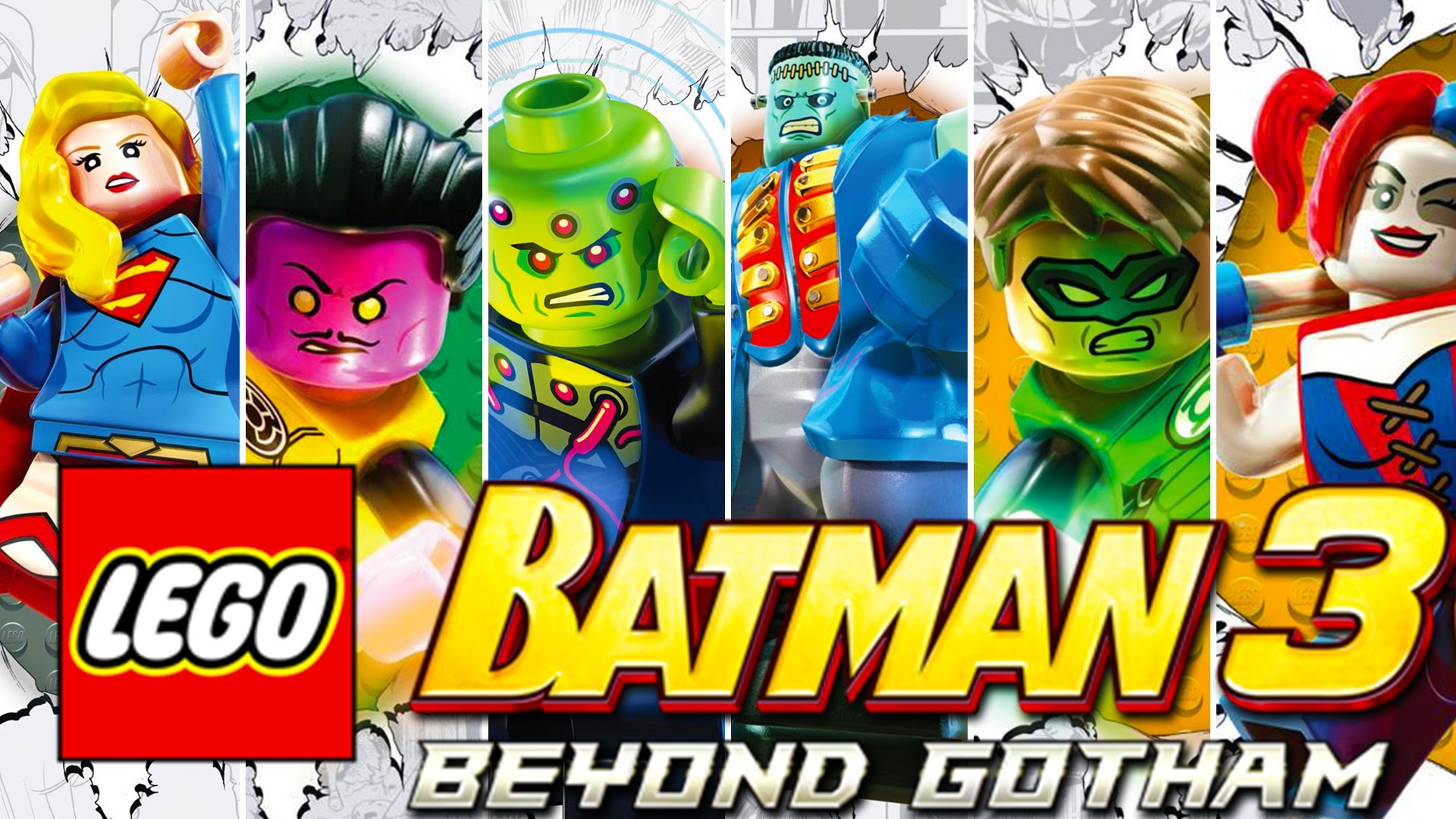2 lego batman 3: beyond gotham hd wallpapers | background images