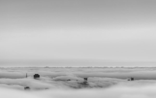 Man Made San Francisco Cities United States City Fog California USA HD Wallpaper | Background Image