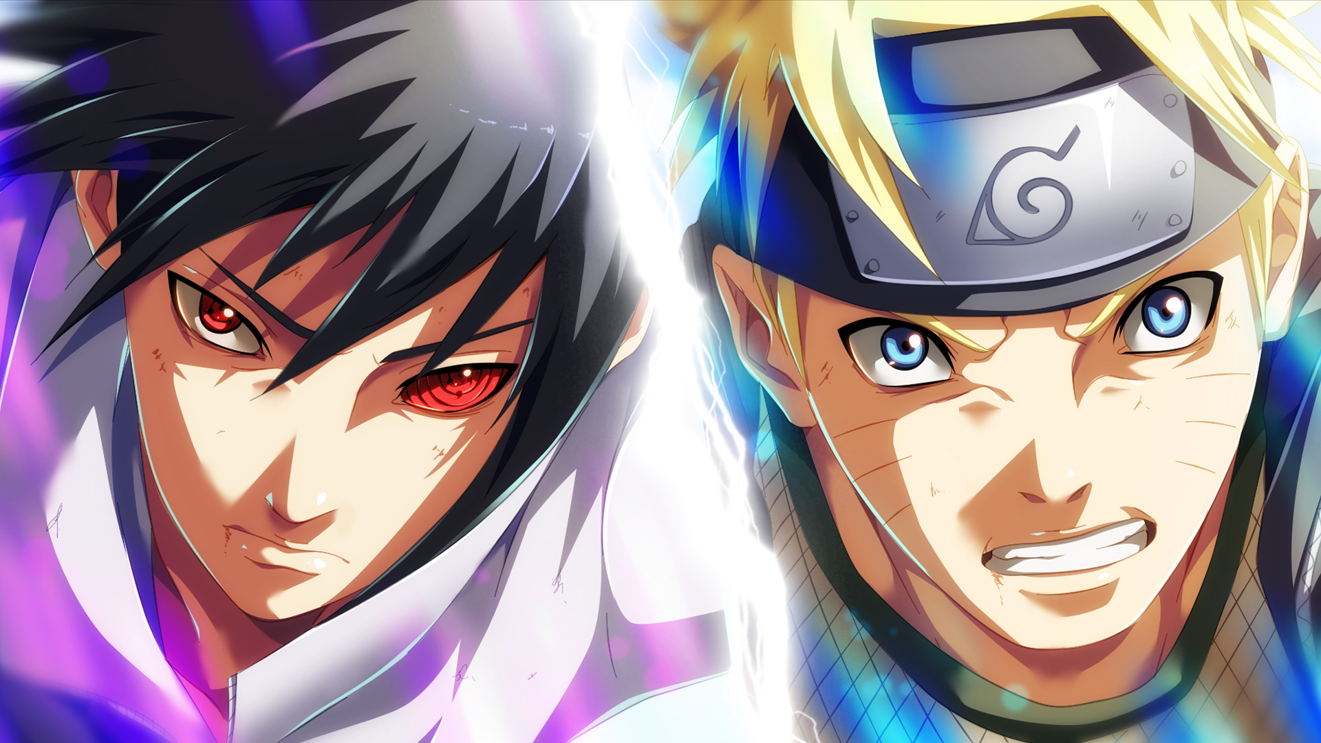 Sasuke and naruto full hd fond d 39 cran and arri re plan for Fond ecran naruto