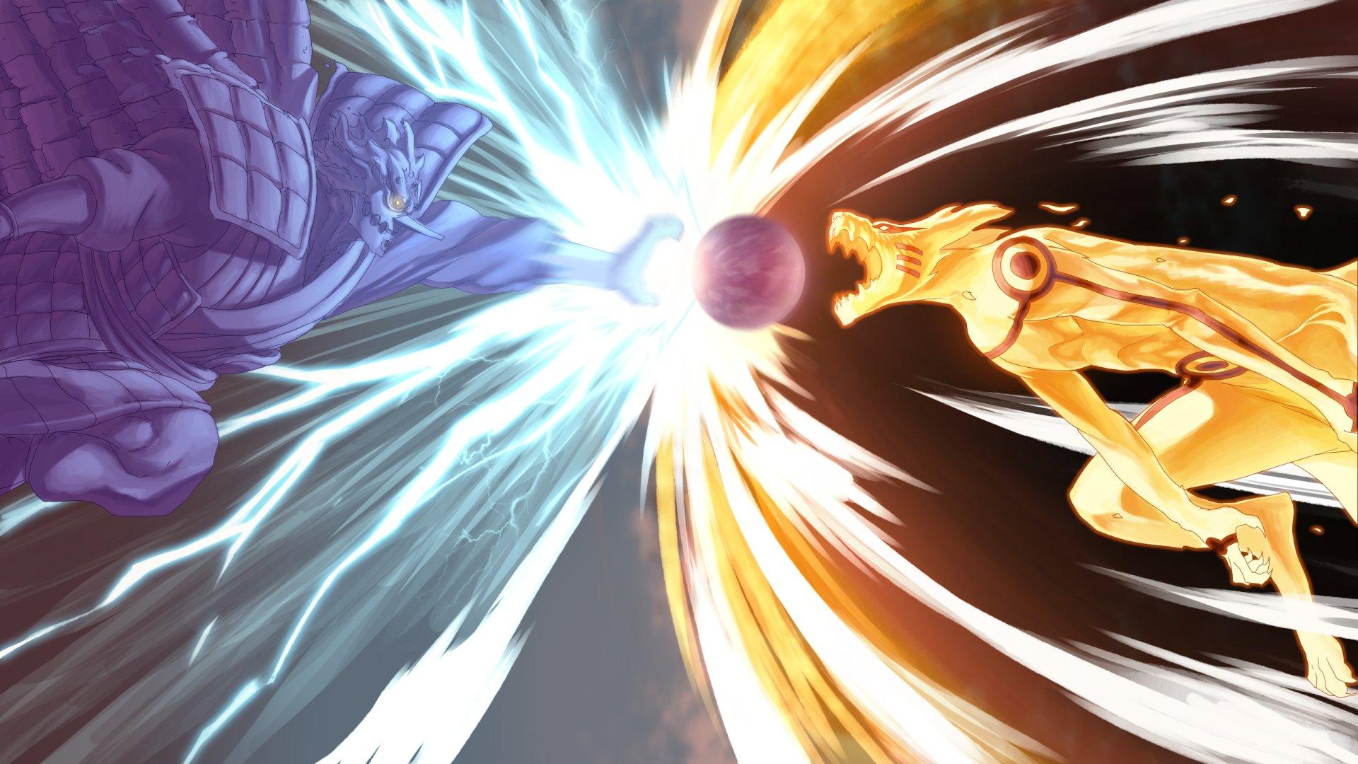 Anime - Naruto  Kurama (Naruto) Kyūbi (Naruto) Susanoo (Naruto) Ninja Anime Duvarkağıdı