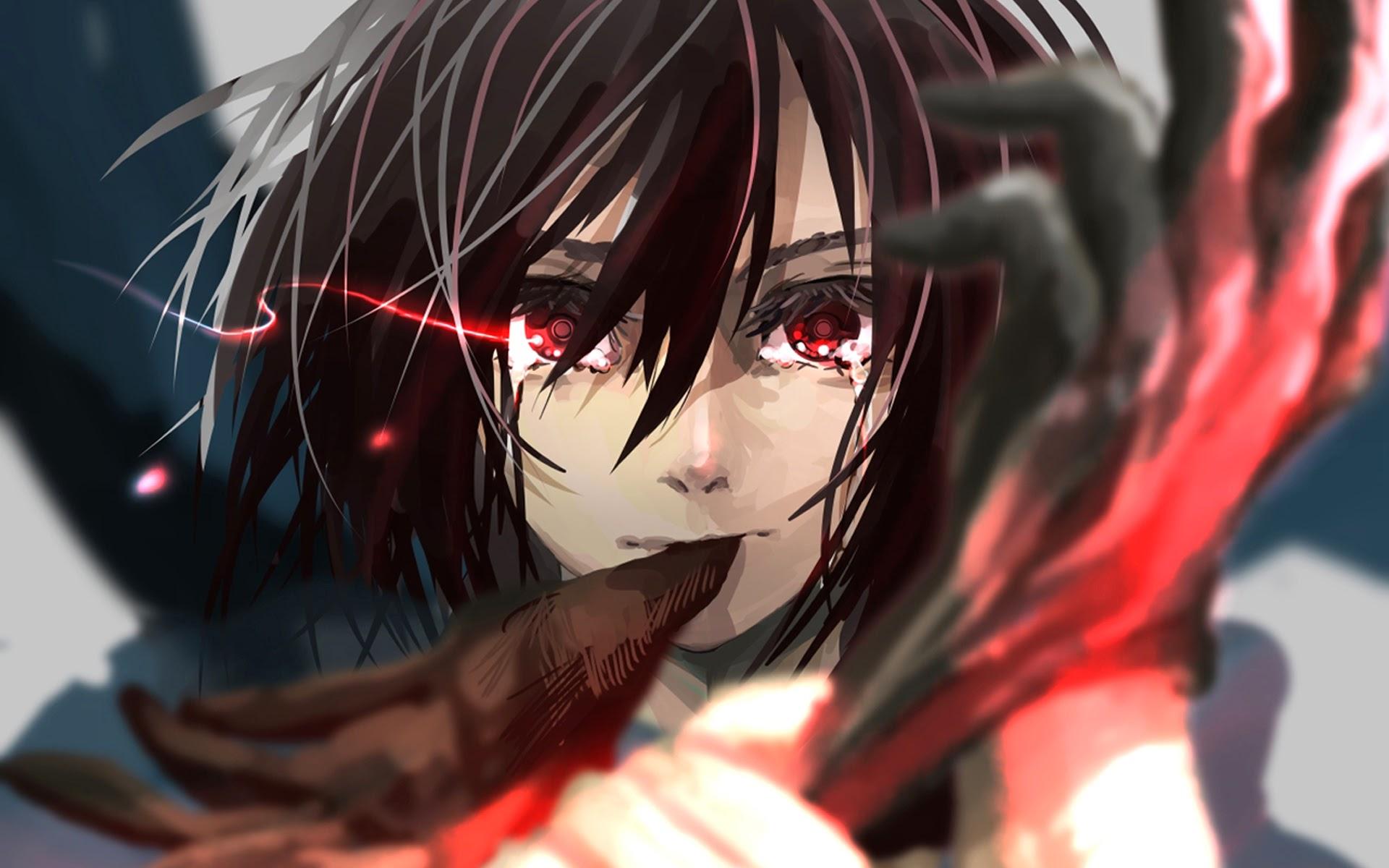 Mikasa Ackerman Hd Wallpaper Background Image 1920x1200 Id 606223 Wallpaper Abyss