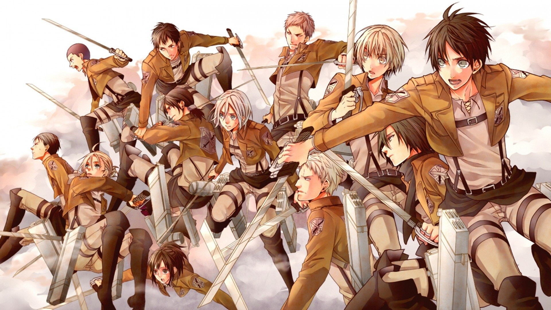 hd wallpaper background id607872 1920x1080 anime attack on titan