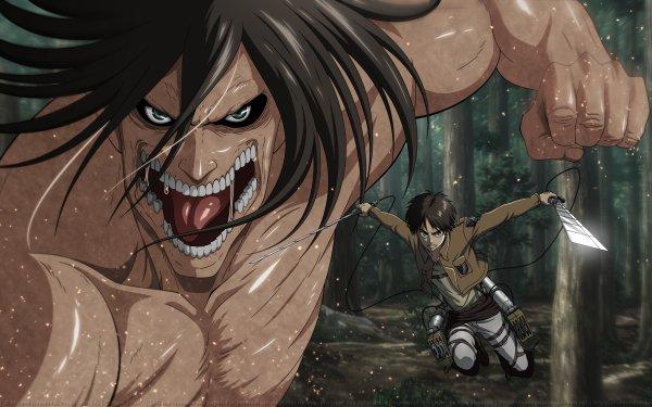 Anime Attack On Titan Shingeki No Kyojin Eren Yeager HD Wallpaper | Background Image