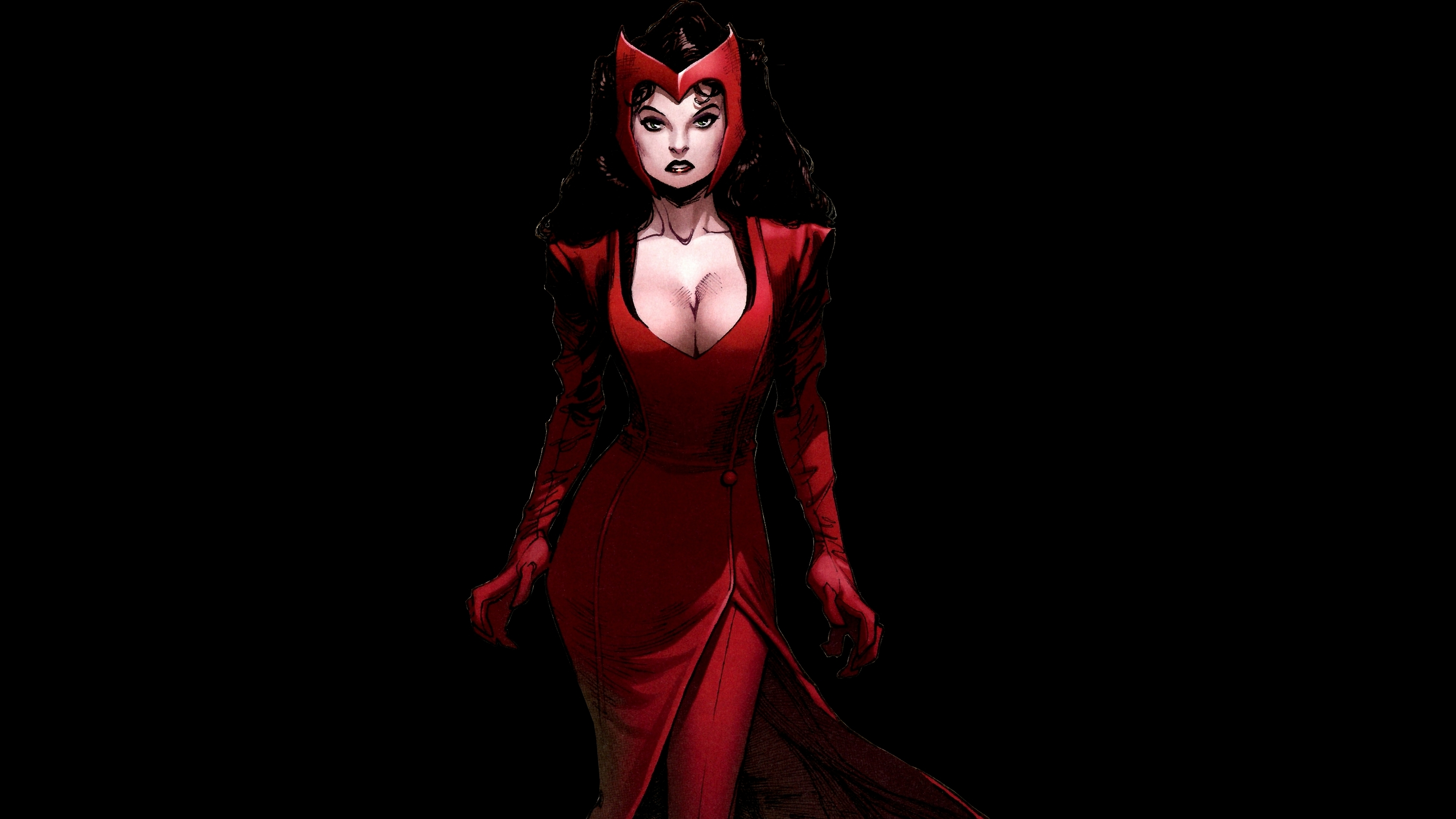 Scarlet Witch Full Hd Wallpaper And Background 3050x1715 HD Wallpapers Download Free Images Wallpaper [1000image.com]